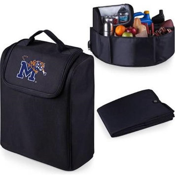 Picnic Time 715-00-179-754-0 University of Memphis Digital Print Trunk Boss in Black with Cooler