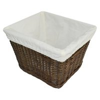 Medium Decorative Basket with Liner - Pillowfort - Espresso Brown - Pillowfort