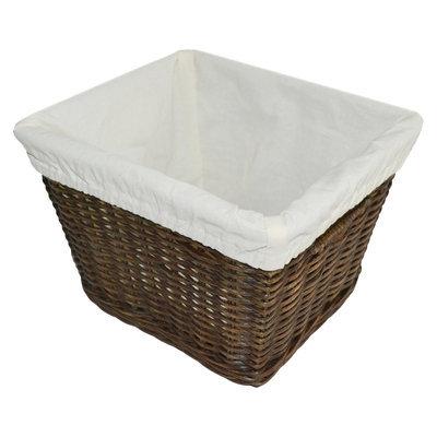 Medium Decorative Basket with Liner - Pillowfort - Espresso Brown - Pillowfort