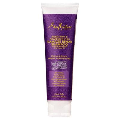 SheaMoisture Kukui Nut & Grapeseed Oils Damage Rehab Shampoo - 10.3 oz