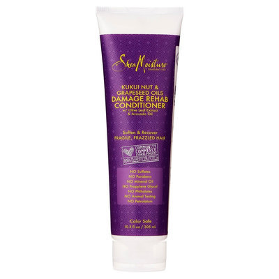 SheaMoisture Kukui Nut & Grapeseed Oils Damage Rehab Conditioner - 10.3 oz