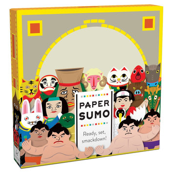 Chronicle Books Paper Sumo Kit, Blue, Gift Book
