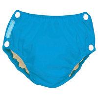 Charlie Banana Reusable Easy Snaps Swim Diaper Blue Turquoise L