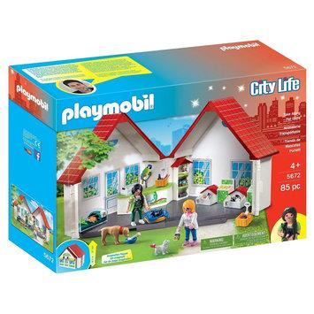 Playmobil Take Along Pet Shop, Multi-Colored