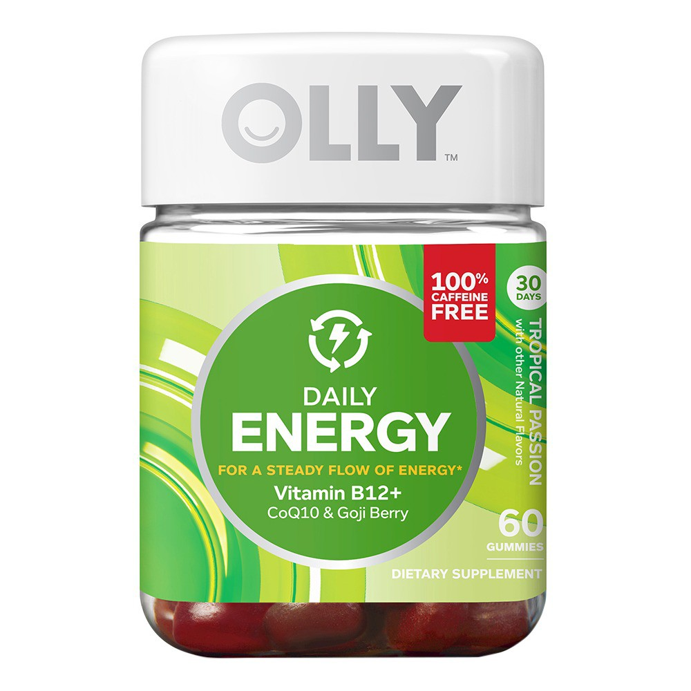 Olly Energy Daily Gummies- 60 Count