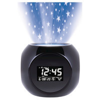 Sharper Image Sound Machine Projection Alarm Clock