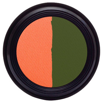 Real Purity Natural Duo Eye Shadow (Lizard/Coral) - 0.2 oz, Lizard Coral