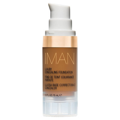 Iman Luxury Concealing Foundation Earth 2 0.5 oz