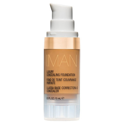 Iman Luxury Concealing Foundation Clay 2 0.5 oz