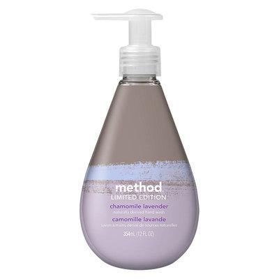 method gel hand wash limited edition chamomile lavender