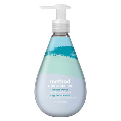 method gel hand wash limited edition ocean waves