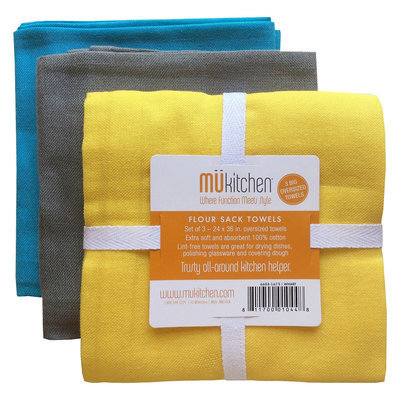 Mu Kitchen Wharf Flour Sack Dish Towel Multicolor 24