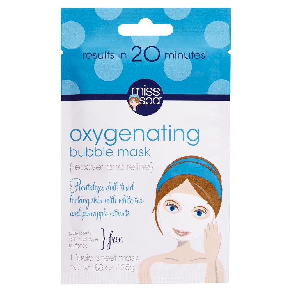 Miss Spa Recover and Refine Oxygenating Bubble Mask 0.88 oz