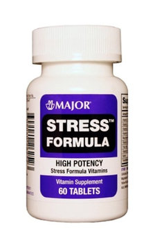 MAJOR STRESS FORMULA TABS ASCORBIC ACID-500 MCG Orange 60 TABLETS UPC