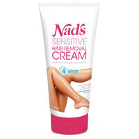 Nads Sensitive Hair Removal Cream for Legs & Body - 5.1 oz