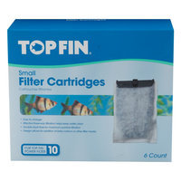Top Fin® Small Aquarium Filter Cartridge size: 6 Count
