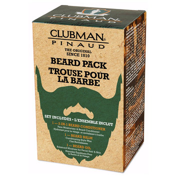Clubman Pinaud Beard Grooming Kit 3 In 1