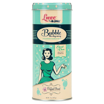 Luxe by Mr. Bubble Sweet & Clean Bubble the Day Away Powdered Bubble Bath 15 oz