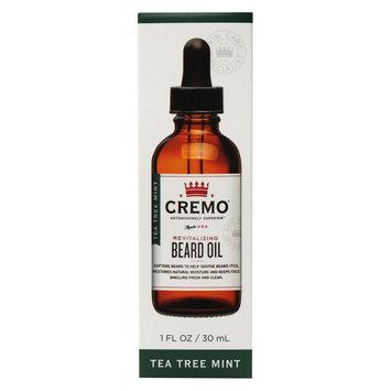 Cremo Tea Tree Mint Revitalizing Beard Oil - 1 oz