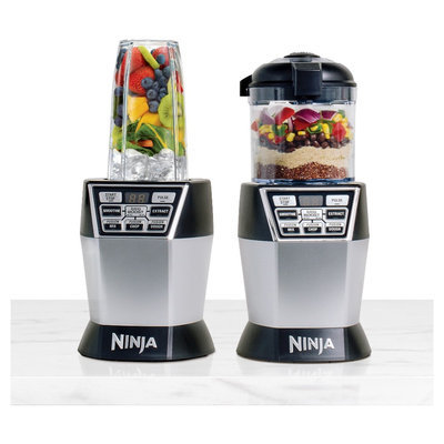 Nutri Ninja Auto iQ with Chopper - NN101, Black