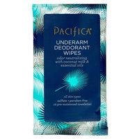 Pacifica Trial Travel Deodorant Wipes Mini 10 ct, White