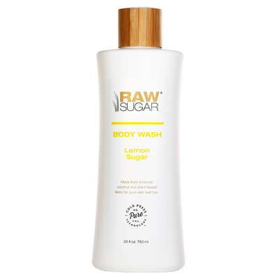 Raw Sugar Natural Body Wash Lemon Sugar 25 Fl Oz