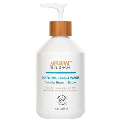 Raw Sugar Vanilla Bean Sugar Natural Hand Wash - 16.9oz