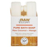 Raw Sugar Pure and Natural Bar Soap Raw Coconut Mango 10 oz.