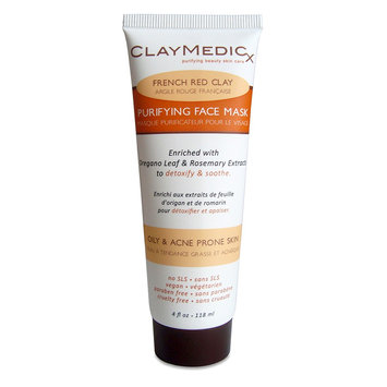 Olivia Care Claymedicx Purifying Face Mask - French Red Clay - 4oz