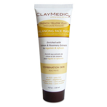 Olivia Care Claymedicx All Natural French Yellow Clay Face Mask 4 oz