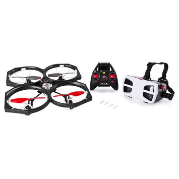 Air Hogs Helix Sentinel First Person View (FPV) HD 720p Video Drone with 4GB Micro SD Card - WiFi