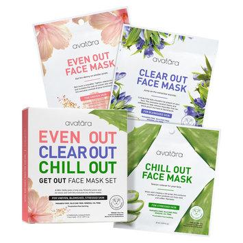 Avatara Get Out Face Mask Set