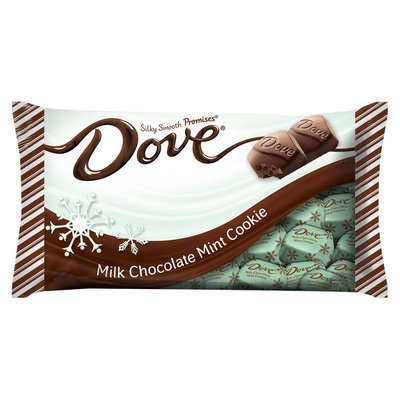Dove Holiday Milk Chocolate Mint Cookie Promises 7.94 oz
