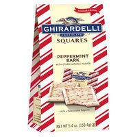 Ghirardelli Limited Edition Holiday Peppermint Bark Chocolate Squares 5.4 oz