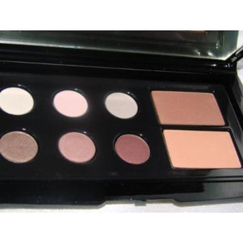Lancome Colour Focus Eyeshadow Palette 4 Ombres EyeColour Quad 4Radiance with Copper, Gold, Gray, & Silver Shades Full Size in Retail Box