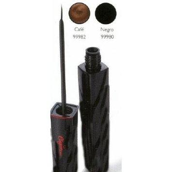 Zermat Eleganzza Liquid Eyeliner, Delineador Liquido 0.34oz (Black-Negro)