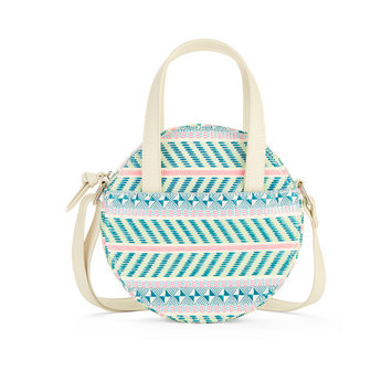 No Boundaries Stripe Circle Crossbody