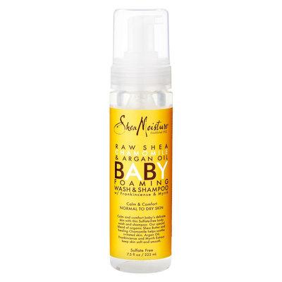 SheaMoisture Raw Shea, Chamomile & Argan Oil Baby Foaming Wash/Shampoo - 7.5oz