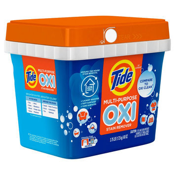 Tide Powder with Oxi Multi Stain Remover 60oz/47ld