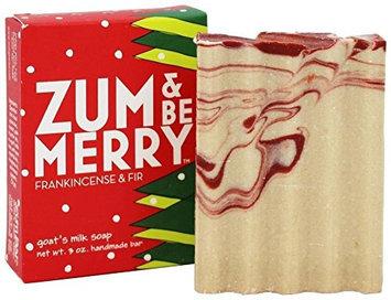 Indigo Wild Zum and Be Merry Frankincense-Fir Soap Bar