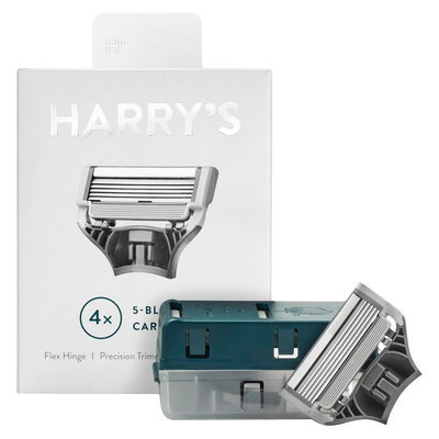 Harry's Men's Razor Blade Refills - 4 count
