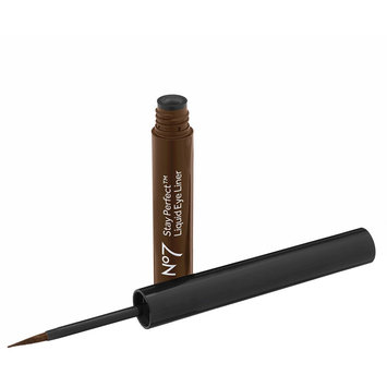 Boots No7 Stay Perfect Liquid Eyeliner Dark Chocolate 0.05 oz