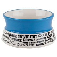 Housewares International AKC Commands Blue Pet Bowl - 6 in.