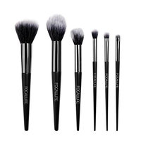 Makeup Brushes Set, Hatop 6Pcs Eyeshadow Blending Makeup Brush Set Powder Foundation Eyeliner Brushes Set