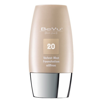 BeYu Velvet Mat Oil Free Foundation Light Toffee 1 Fl Oz