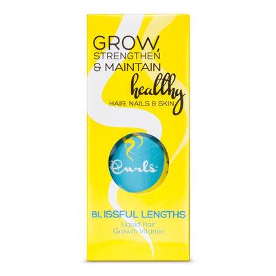Curls Blueberry Blissfull Lengths Liquid Hair Growth Vitamins - 8 oz