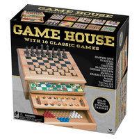 Cardinal Wood 10-Game House Set