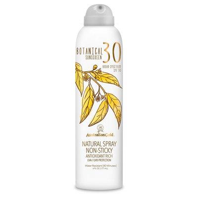 Australian Gold Botanical Natural Sunscreen Continuous Spray SPF30 6 oz