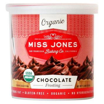 Miss Jones Organic Chocolate Frosting 11.2oz, Brown