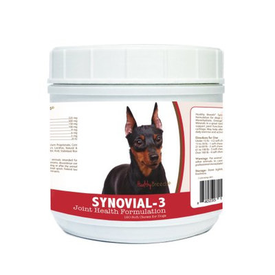Healthy Breeds 840235110934 Miniature Pinscher Synovial-3 Joint Health Formulation - 120 Count